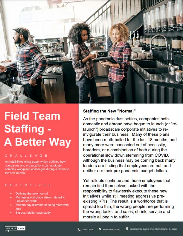 field team loss prevention strategy